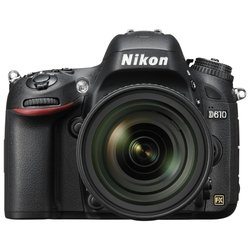 Nikon D610 Kit (black 24.2Mpix 24-85VR 3 1080p SD, ����� � ����������)