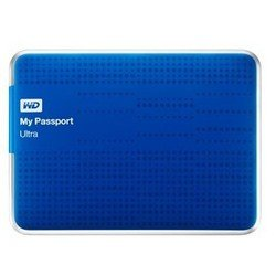 western digital wd my passport ultra 1tb wdbjnz0010bbl-eeue (синий)