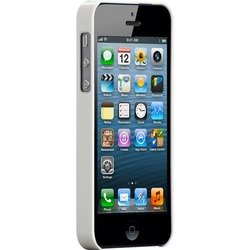 чехол для apple iphone 5, 5s (case matte barely there cm022392) (белый)
