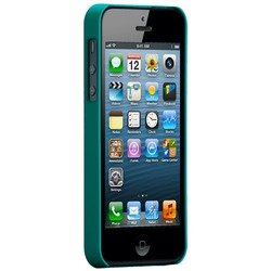 чехол для apple iphone 5, 5s (case matte barely there cm022396) (зеленый)