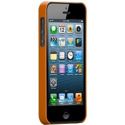 чехол для apple iphone 5, 5s  (case matte barely there cm022402) (оранжевый)