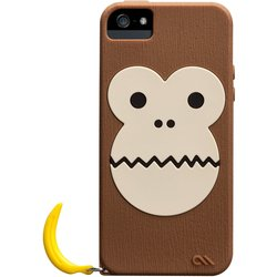 чехол для apple iphone 5, 5s (casemate creatures cm022446) (обезьяна)