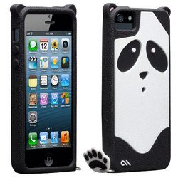чехол для apple iphone 5, 5s (casemate creatures cm022448) (панда)