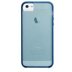 чехол для apple iphone 5, 5s (casemate haze cm022480) (голубой)