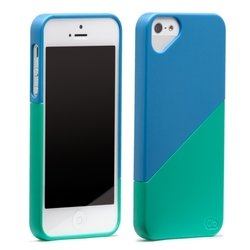 чехол для apple iphone 5, 5s (casemate olo022718) (голубой)