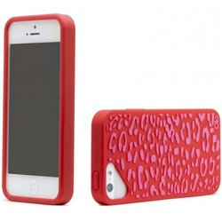 чехол для apple iphone 5, 5s (casemate olo fashion olo022736) (леопард)