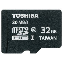 Toshiba SD-C032UHS1 + SD adapter
