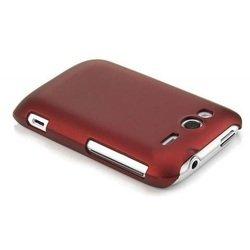Пластиковый чехол-накладка для HTC Wildfire S A510E (Jekod YT000000798) (красный)