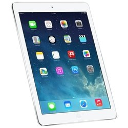 Apple iPad Air 128Gb Wi-Fi + Cellular Silver (белый) :