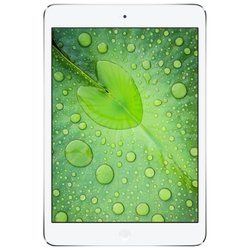 Apple iPad mini 2 with Retina display 128Gb Wi-Fi + Cellular Silver (белый) :