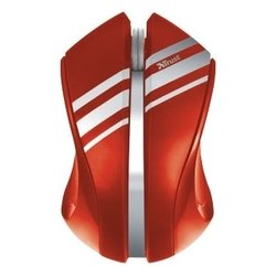 trust sula wireless mouse red usb