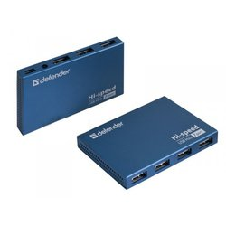 Разветвитель USB Defender 7 port Septima-Slim