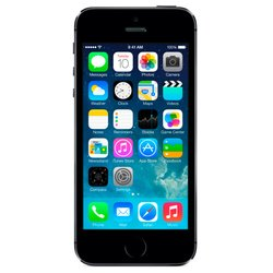 Apple iPhone 5S 16Gb ME432RU/A space gray (����������� �����) :::