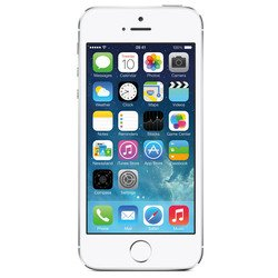 Apple iPhone 5S 16Gb ME433RU/A silver (�����������) :::