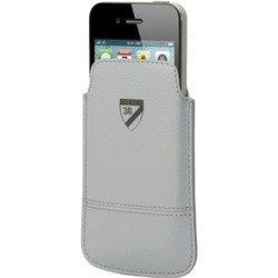 Чехол-футляр для Nokia E6/Asha 210, Sony Xperia Miro/Sola, Samsung Omnia W/Galaxy W/Galaxy Ace/Galaxy Ace Duos, Apple iPhone 4/4S, HTC Desire S (Cremieux CRCUN0012) (серый)