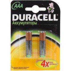Аккумуляторная батарея ААА (Duracell HR03-2BL) (800mAh, 2 шт)