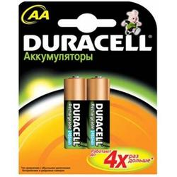 Аккумуляторная батарея АА (Duracell HR6-2BL) (2450mAh, 2 шт)