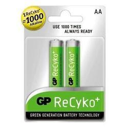Аккумуляторная батарея АА (GP 210AAHCB-EC2 Recyko) (2100mAh, 2 шт)