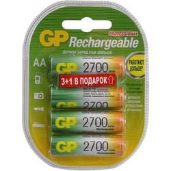 Аккумуляторная батарея АА (GP 270AAHC3/1-2CR4) (2700mAh, 4 шт)