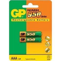 Аккумуляторная батарея ААА (GP 95AAAHC-UC2) (950mAh, 2 шт)