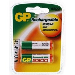 Аккумуляторная батарея АА (GP230AAHC-CR2) (2300mAh, 2 шт)