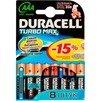 Алкалиновая батарейка ААА (Duracell LR03-8BL TURBO) (8 шт) - Батарейка, аккумуляторБатарейки и аккумуляторы<br>С батарейкой Duracell Ваше цифровое устройство проработает дольше и не подведет в самый ответственный момент.<br>