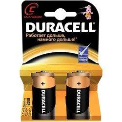 Алкалиновая батарейка С (Duracell LR14-2BL) (2 шт)