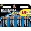 Алкалиновая батарейка АА (Duracell LR6-8BL Turbo NEW) (8 шт) - Батарейка, аккумуляторБатарейки и аккумуляторы<br>С батарейкой Duracell Ваше цифровое устройство проработает дольше и не подведет в самый ответственный момент.<br>