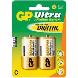 Алкалиновая батарейка C (GP 14AU-BC2) (2 шт)