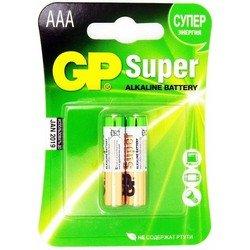 Алкалиновая батарейка AAА (GP24A-VE2) (2 шт)