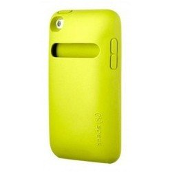 Пластиковый чехол-накладка для Apple iPod Touch 4 (Speck KangaSkin SPK-A1437) (желтый)