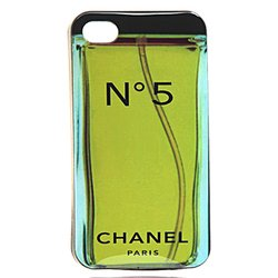чехол-накладка tpu для apple iphone 4, 4s (chanel 14909) (№5)