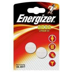 Литиевая батарейка CR2032 (Energizer CR2032 PIP2) (2 шт)