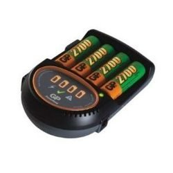 Зарядное устройство для AAA/АА + 4 аккумулятора AA (GP PB50GS270CA-UE4 DC) (2700mAh)