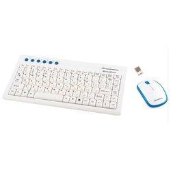 mediana km-313 white-blue usb (белый/синий)