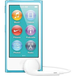 ��������� apple ipod nano 7 16gb blue md477 (�������) :::