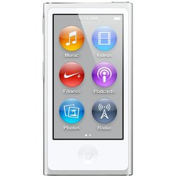 apple ipod nano 7 16gb silver md480 (серебристый) :::