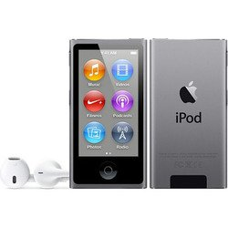 Apple iPod Nano 7 16Gb Space Grey ME971 (серый) :::