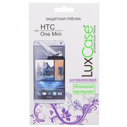 защитная пленка для htc one mini (luxcase) (антибликовая)