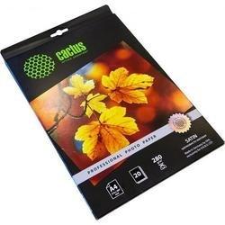 Фотобумага сатиновая А4 (20 листов) (Cactus CS-SMA428020 Professional)