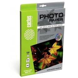 Фотобумага матовая двусторонняя А4 (20 листов) (Cactus CS-MA422020DS)