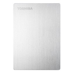 toshiba stor.e slim for mac 500gb (серебристый)