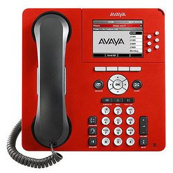 Avaya 9640 (серый-красный)