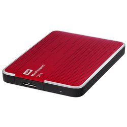 Western Digital WD My Passport Ultra 1TB WDBJNZ0010BRD-EEUE (красный)