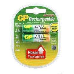 Аккумуляторная батарея АА (GP 270AAHC-UC2PET-G) (2700mAh, 2 шт)