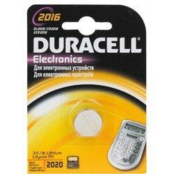 Литиевая батарейка CR2016 (Duracell 0175675)
