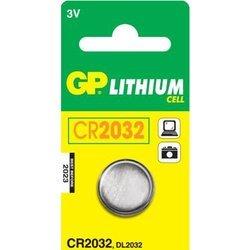 Литиевая батарейка CR2032 (GP CR2032-C1)