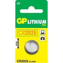 Литиевая батарейка CR2025 (GP CR2025-BC1)
