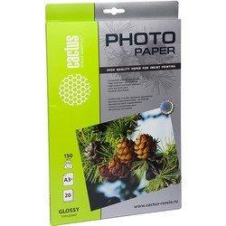 Фотобумага глянцевая А3+ (20 листов) (Cactus CS-GA315020)