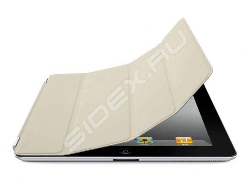 Чехол - книжка iRidium для Samsung Galaxy S5 (белый) натуральная кожа